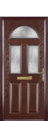2 Panel 2 Square 1 Arch Composite Door