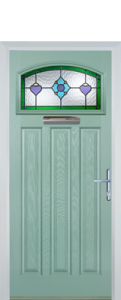 3 Panel 1 Square Composite Door