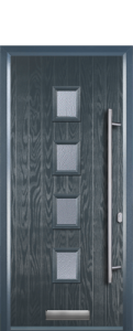4 Square Composite Door