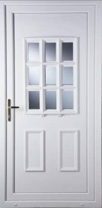 Cottage Bow Door