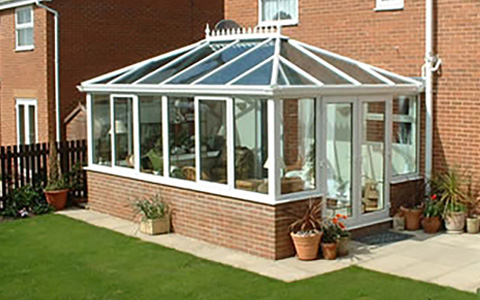 Glass Conservatory Roof
