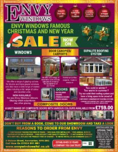 Windows doors and conservatory sale